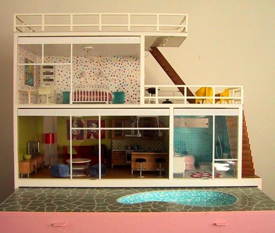 Casas de muñecas  Mirada Felina