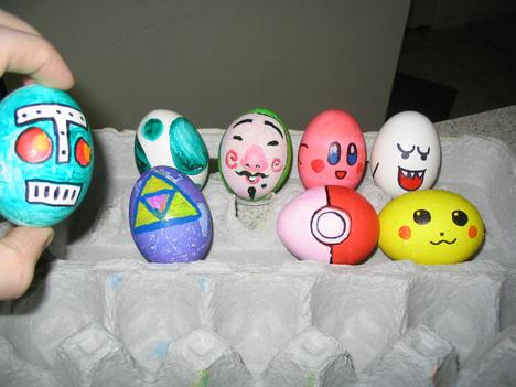 Huevos decorados de primavera ( pero muy especiales…) | Mirada Felina